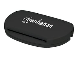 Manhattan USB 2.0 Type A Smart SIM Card Reader, 102032, 34840471, PC Card/Flash Memory Readers