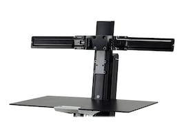 Ergotron Dual Monitor Double-Hinged Bow, 98-101-009, 34386010, Mounting Hardware - Miscellaneous