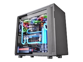 Thermaltake Core F31 Tempered Glass Mid-tower Case, CA-1E3-00M1WN-03, 33706712, Cases - Systems/Servers