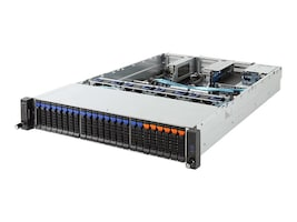Gigabyte Tech Dual AMD 2U Epyc Server 24xBays, R281-Z91, 35519734, Servers