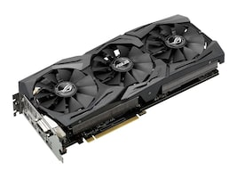 Asus STRIX-GTX1060-6G-GAMING Main Image from Left-angle