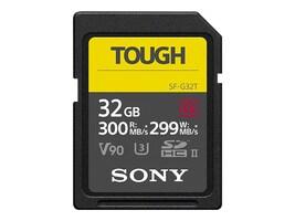 Sony 32GB SF-G Tough Series UHS-II SDHC Memory Card, Class 10, SF-G32T/T1, 36179532, Memory