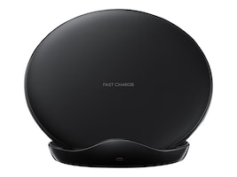 Samsung Fast Charge Wireless Charging Stand 2018, Black, EP-N5100TBEGUS, 35520807, Battery Chargers