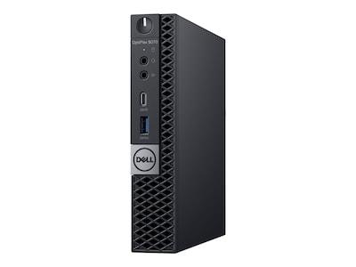 Dell OptiPlex 5070 MFF Core i7-9700T 2.0GHz 8GB 256GB SSD UHD630 ac BT 90W W10P64, TGCCR, 37146450, Desktops