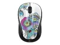 Logitech M325 Art Collection Wireless Optical Mouse, Lady on the Lily