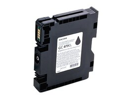 Ricoh Black GC41K Print Cartridge, 405761, 13930021, Ink Cartridges & Ink Refill Kits
