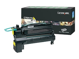 Lexmark Yellow Return Program Toner Cartridge for C792 & X792 Series, C792A1YG, 12117433, Toner and Imaging Components - OEM