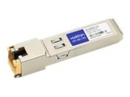 ACP-EP SFP+ 30M TX RJ-45 XCVR 10-GIG TX Copper RJ-45 Transceiver for MSA, SFP-10GBASE-T-AO, 32503500, Network Transceivers