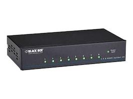 Black Box VSP-HDMI1X8-4K Main Image from Left-angle