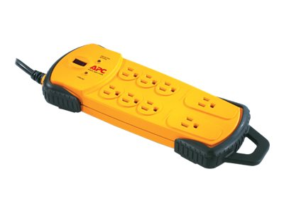 APC Workshop SurgeArrest 8 Outlets, Yellow, PDIY8, 7761857, Surge Suppressors