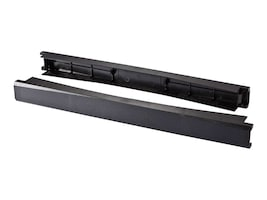 C2G 1U 19 Tool-Less Snap-in Filler Panel, 2-Pack, 14631, 30879298, Rack Mount Accessories