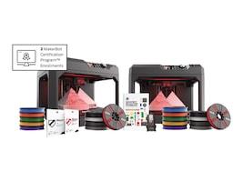 MakerBot Replicator+ 3D Printer Classroom Bundle w  1-Year MakerCare Protection Plan, CLASSROOM1, 36198186, Printers - 3D