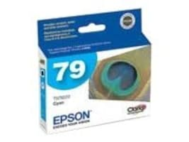 Epson 79 High Capacity Cyan Ink Cartridge for Stylus Photo 1400, T079220, 7415065, Ink Cartridges & Ink Refill Kits