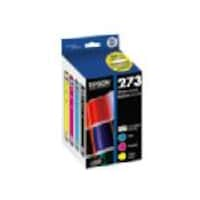 Epson Color 273 Standard Capacity Ink Cartridges - Cyan, Magenta, Yellow & Photo Black (4-pack), T273520-S, 36177406, Ink Cartridges & Ink Refill Kits - OEM