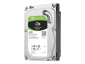 Seagate 2TB BarraCuda SATA 6Gb s 3.5 Internal Hard Drive, ST2000DM006, 32385380, Hard Drives - Internal