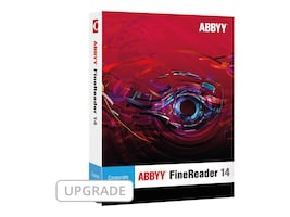 ABBYY FineReader 14.0 Corporate Version Upgrade DVD Box, FRCUW14B, 33641349, Software - OCR & Scanner