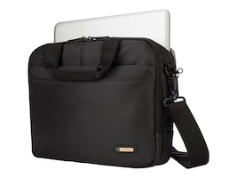 Targus 12 Meridian Briefcase for Microsoft Surface, Black, ONT333US, 34670395, Carrying Cases - Notebook