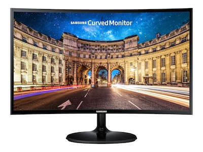 Samsung 27 CF390 Full HD LED-LCD Curved Monitor, Black, C27F390FHN, 32224527, Monitors