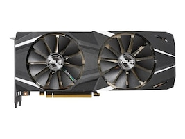 Asus DUAL-RTX2080TI-11G Main Image from Front