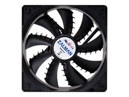 Zalman ZM-PLUS 92mm Ultra Quiet Fan SF Version, Black, ZMF2 PLUSSF, 30940571, Cooling Systems/Fans