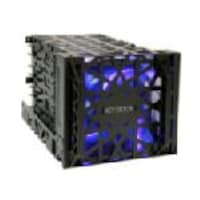 Icy Dock Black Vortex 3.5 HDD in 3 Cooler, MB074SP-B, 16575503, Hard Drive Enclosures - Multiple