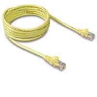 Belkin Cat6 Snagless Patch Cable, Yellow, 6in, A3L980-06IN-YWS, 12113230, Cables