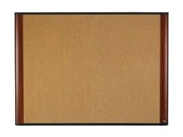 3M Cork Board, Mahogany Finish, 48 x 36, C4836MY, 14597506, Furniture - Miscellaneous