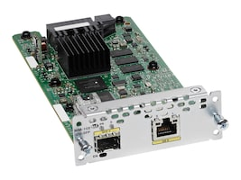 Cisco NIM-1GE-CU-SFP= Main Image from Left-angle