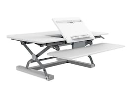 Loctek 36 Sit-Stand Riser, White, PL36W, 35710969, Furniture - Miscellaneous