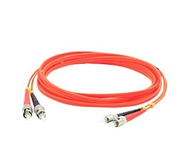 ACP-EP ST-ST 62.5 125 OM1 Multimode LSZH Duplex Fiber Cable, Orange, 1m, ADD-ST-ST-1M6MMF, 32066741, Cables