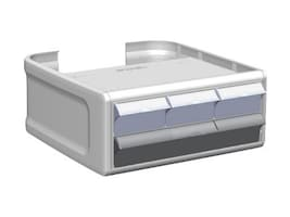 Enovate Envoy Two Tier Locking Drawer, ENVD2003, 37165212, Cart & Wall Station Accessories