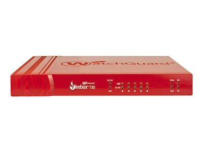 Watchguard Firebox T30 w Sec Ste, US (1 Year), WGT30031-US, 30859393, Network Firewall/VPN - Hardware