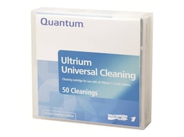 Quantum LTO Universal Cleaning Cartridge, MR-LUCQN-01, 5465317, Tape Drive Cartridges & Accessories
