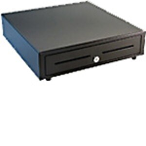 Open Box APG Vasario Cash Drawer, 16 x 16, Media Slots, MultiPRO 320 Interface, Black, VB320-BL1616, 36741880, Cash Drawers
