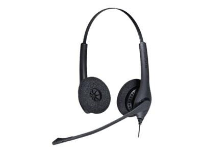 Jabra BIZ 1500 Duo QD Headset, 1519-0157, 31999662, Headsets (w/ microphone)
