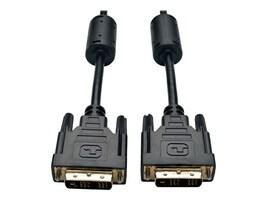 Tripp Lite DVI-D Single Link M M TDMS Cable, Black, 10ft, P561-010, 4944789, Cables