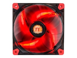 Thermaltake Luna 12 LED Fan, Red, CL-F017-PL12RE-A, 16956509, Cooling Systems/Fans