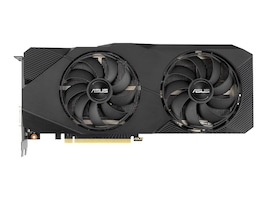 Asus DUAL-RTX2060S-O8G-EVO Main Image from Front