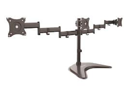 StarTech.com Triple-Monitor Desktop Stand for VESA Displays up to 27, ARMBARTRIO, 33798143, Stands & Mounts - AV
