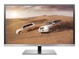 AOC 32 Q3277FQE Quad HD LED-LCD Display, Black Silver, Q3277FQE, 33686782, Monitors