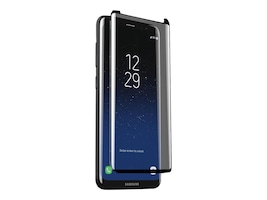 Zagg InvisibleShield Glass Curve Scren Protector for Samsung Galaxy S8, GS8CGC-C20, 34592075, Protective & Dust Covers