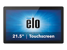 ELO Touch Solutions ESY22i5 AIO Core i5-6500TE 2.3GHz 4GB 128GB SSD HD530 ac BT 21.5 FHD MT W7, E222794, 32435009, Desktops - All-in-One