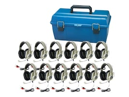 Hamilton HA-66M Headset Lab Pack (12-pack Case), LCP/12/HA66M, 35176815, Headsets (w/ microphone)
