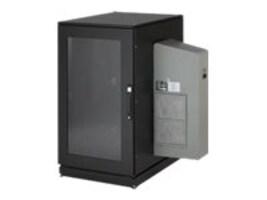 Black Box 24U Climate Cab w M6 Rails and 8000 BTU AC UNIT, 230V, CC24U8000M63123, 36009251, Cases - Systems/Servers
