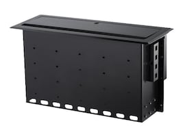 StarTech.com DUAL-MODULE CONFERENCE TABLE   PERPCONNECTIVITY BOX - CUSTOMIZABLE, BOX4MODULE, 37837824, Wireless Antennas & Extenders