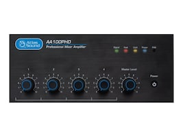 Atlas Sound 4-Input 100W 25V 70V 4  Mixer Amplifier w  PHD Automatic, AA100PHD, 36153519, Stereo Components