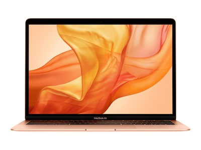 Apple MacBook Air 13 Retina Touch ID Core i3 1.1GHz 8GB 256GB Gold, MWTL2LL/A, 38234208, Notebooks - MacBook Air
