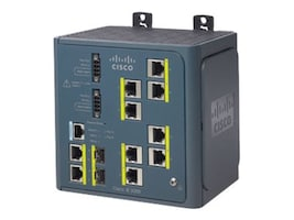Cisco IE 3000 8Pt. Base Switch w  Layer 3, IE 3000 8PT BASE SWCH-W/ LAYER, 10875775, Network Switches