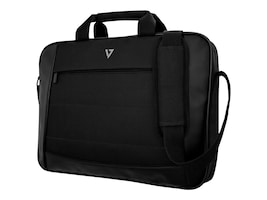 V7 16 Essential Laptop Carrying Case, Black, CTK16-BLK-9N, 35182879, Carrying Cases - Notebook