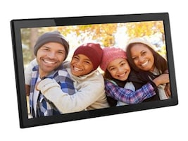 Aluratek 17.3 TouchScreen IPS LCD Digital Photo Frame, 16GB, AWS17F, 36972151, Digital Picture Frames